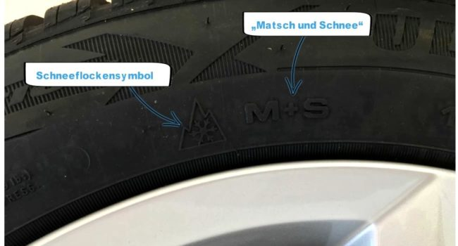 Reifenbezeichnungnen