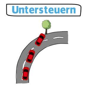 Untersteuern-auto