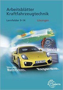 kfz arbeitsblätter Fachbuch